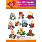 Hearty Crafts Easy 3D topper Candles in wintertime