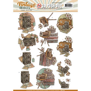 Find It Push Out - Yvonne Creations - Vintage Objects - Vintage Cameras