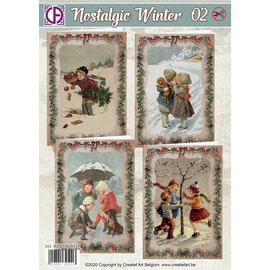 Creatief Art Nostalgischer Winter 02