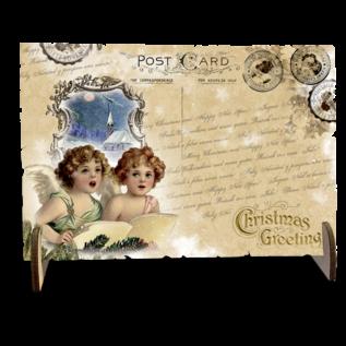 Creatief Art Wooden Postcards 02