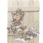 Creatief Art Wooden Cards 04 - Kerst