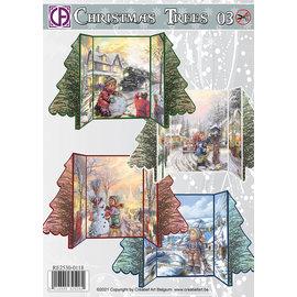 Creatief Art Weihnachtsbäume 03