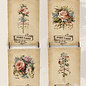 Creatief Art Wooden Vintage Cards 01