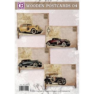 Creatief Art Wooden Postcards 04