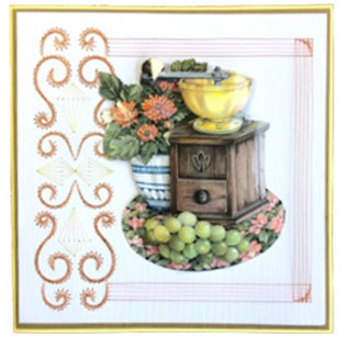 Creatief Art 3D glasierte Schneckendrucke - Vintage 01
