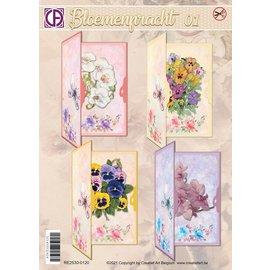 Creatief Art Schöne Blumen 01