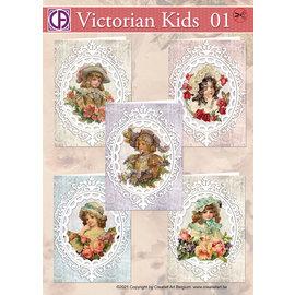 Creatief Art Viktorianische Kinder 01