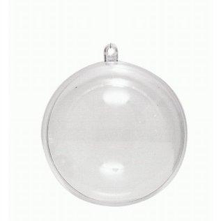 Creatief Art 4 Plastic Kerstballen 8 cm