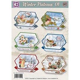 Creatief Art Plateau d'hiver 01