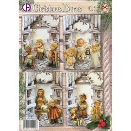 Christmas Barns 01
