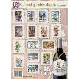 Creatief Art Hummel Geschenklabels