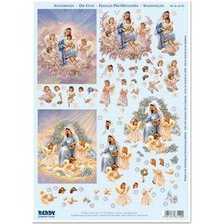 Maria met kinderengeljes