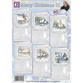 Creatief Art Merry Christmas 01