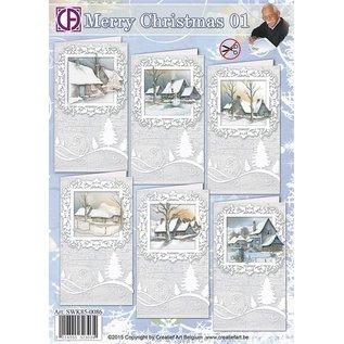 Creatief Art Frohe Weihnachten 01