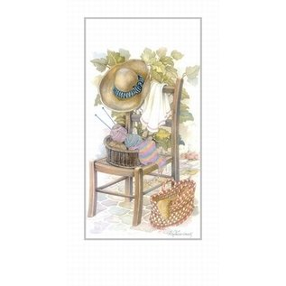 Creatief Art Pakket  6x SWR1-161 stoel met hoed