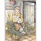 Creatief Art Pakket 6st  SWR1-158 jongen voor stal