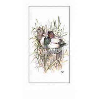 Creatief Art Pakket 6st SWR1-102 eenden in riet