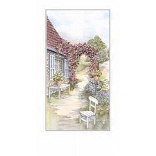 Creatief Art Pakket 6st SWR1-115 Frans huis met stoel