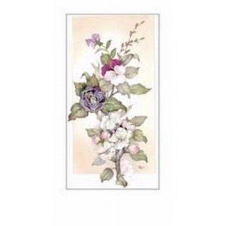 Creatief Art Pakket 6st SWR1-117 tak met bloemen 1