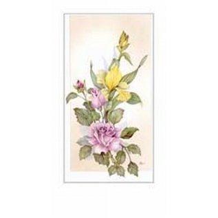 Creatief Art Pakket 6st SWR1-118 tak met bloemen 2