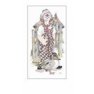 Creatief Art Pakket 6st SWR1-121 clown met eend