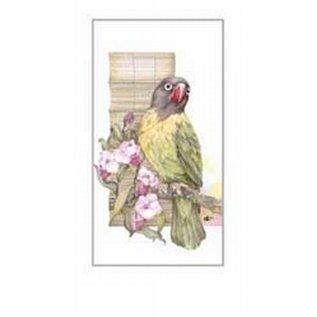 Creatief Art Pakket 6st SWR1-132   papegaai 1