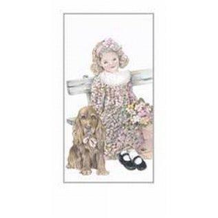 Creatief Art Pakket 6st SWR1-135 meisje met hond