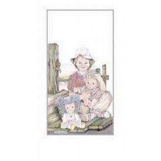 Creatief Art Pakket 6st SWR1-136 jongen met poppen