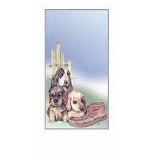 Creatief Art Pakket 6st SWR1-72 Honden bij schoen