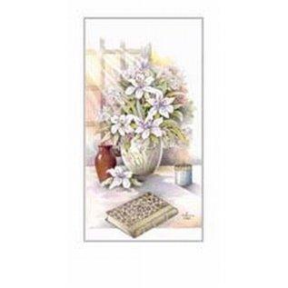 Creatief Art Pakket 6st SWR1-97   bloemenvaas met boek