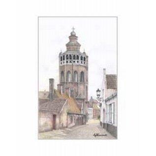 Creatief Art Pakket 6x  SWR 383  Brugge kerk