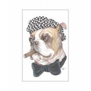 Creatief Art Pakket 6x  SWR3-0155 Hond met sigaar