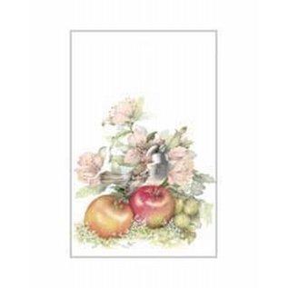 Creatief Art Pakket 6x SW Vogel bij appels