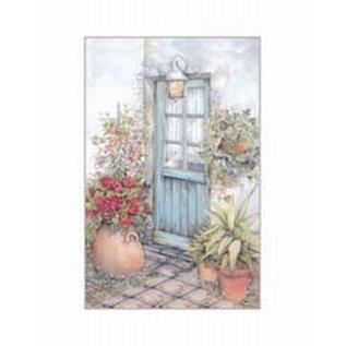 Creatief Art Pakket 6x SWR 3-0105  blauwe deur