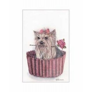 Creatief Art Pakket 6x SWR 3-0129 hond in mand