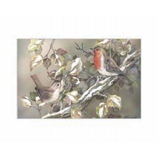 Creatief Art Pakket 6x SWR 3-0134 vogels op tak