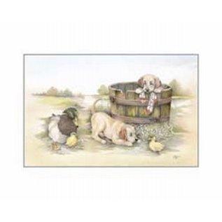 Creatief Art Pakket 6x SWR 3-0139 honden in ton