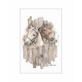 Creatief Art Pakket 6x SWR 3-0143  paarden voor hek