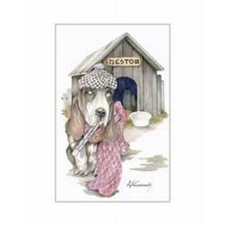 Creatief Art Pakket 6x SWR 3-0144 Zieke hond voor hok