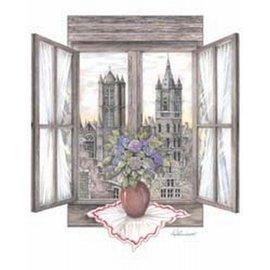 Creatief Art Pakket 6x SWR 390  open raam zicht op Belford Gent