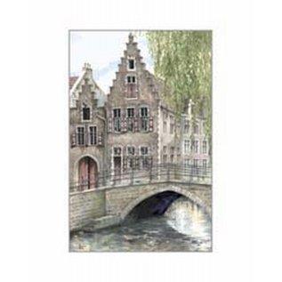 Creatief Art Pakket 6x SWR 397  Gent brugje