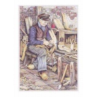 Creatief Art Pakket 6x SWR2-0063   Klompenmaker