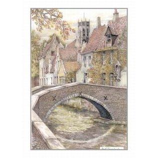 Creatief Art Pakket 6x SWR2-0075 Brugge