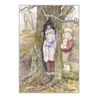 Creatief Art Pakket 6x SWR2-0078  kinderen voor boom