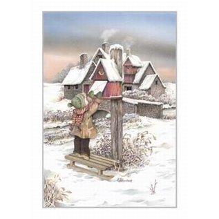 Creatief Art Pakket 6x SWR2-0085 kind aan brievenbus