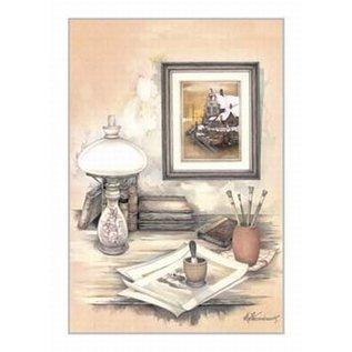 Creatief Art Pakket 6x SWR2-0124 Boek met lamp