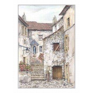 Creatief Art Pakket 6x SWR2-0137 Spaans zicht (Althea)