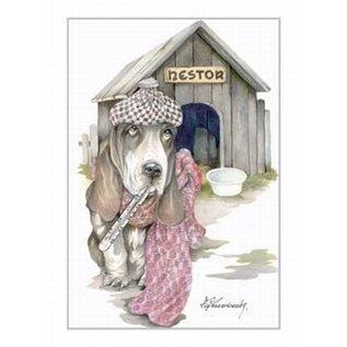 Creatief Art Pakket 6x SWR2-0144 hond voor hok