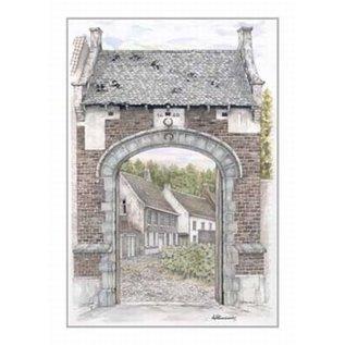 Creatief Art Pakket 6x SWR2-0152  Poort van Herentals