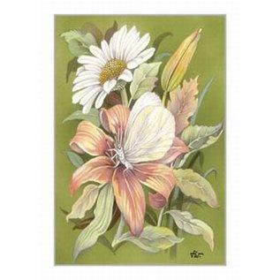 Creatief Art Pakket 6x SWR2-0157  Bloemen